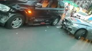 Веселье в Балашихе закончилось аварией