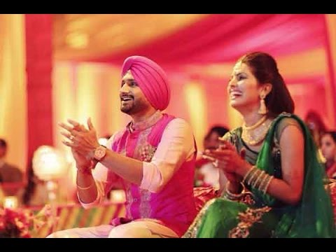 Gunjan Utreja hosted Harbhajan and Geeta's sangeet