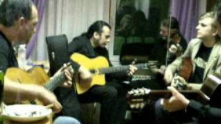 Jam in Russia - Rosenberg trio and Djangoband - I can't give you anything but love.avi