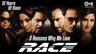 Reasons Why We Love RACE   13 Years Of RACE   Saif Ali K   Akshaye K   Katrina K   Bipasha B   Tips