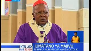 Wakristo wakatoliki wajumuika kuashiria jumaa tano ya majivu