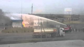 Взрыв на газовой заправке