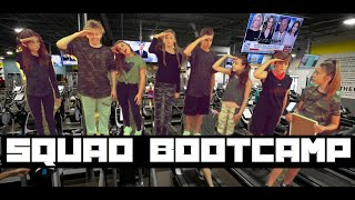 LAST to LEAVE SQUAD BOOTCAMP **INTENSE CHALLENGE**