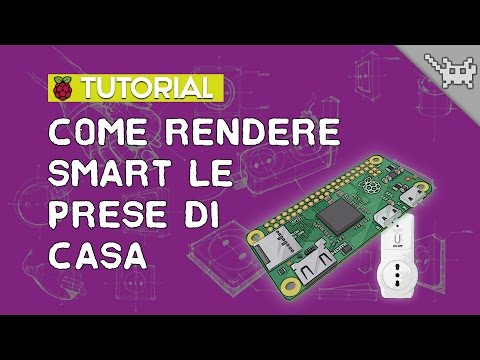 Come rendere SMART le prese con il Raspberry Pi Zero ⊷ #gon_Tutorial