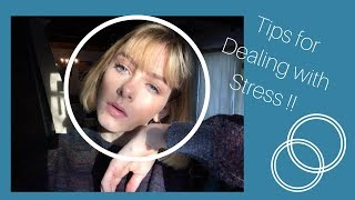 TOP FIVE TIPS FOR STRESS/ANXIETY !!