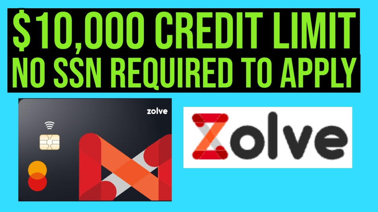NO SSN REQUIRED! $10,000 Credit line! New FinTech! Zolve Charge Card! thumbnail