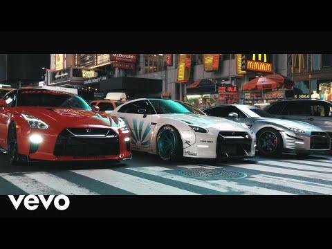 Night Lovell, Lindasson & FTG Reggie - A Lot | CAR VIDEO