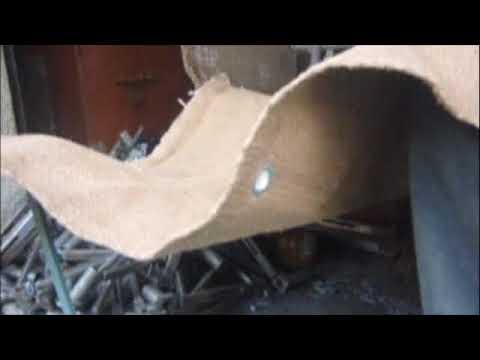 Ceramic Vermiculite Coated Fire Blanket