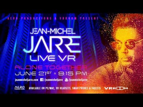 המוזיקאי Ean-Michel Jarre בדיוק הופיע בשידור חי במציאות מדומה לראשונה