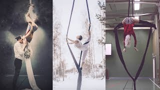 What Being Self Taught In Aerial Silks For 1 Year Looks Like - VLOG