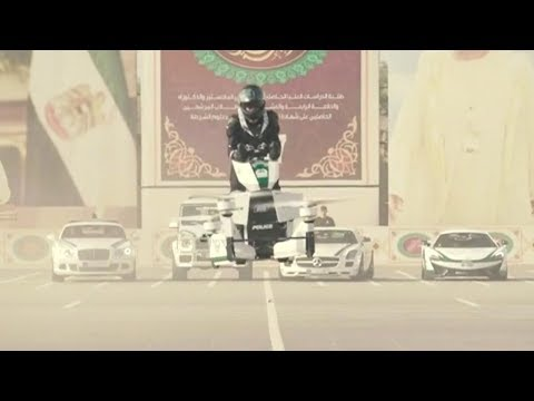Dubai police eye the skies with new 'hoverbike'
