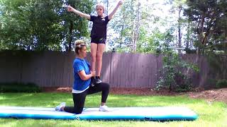 Basic Cheer Stunts