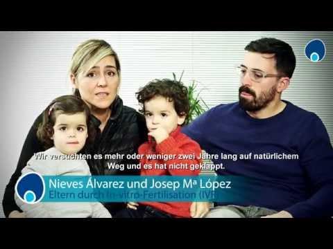 Nieves Álvarez und Josep Mª López