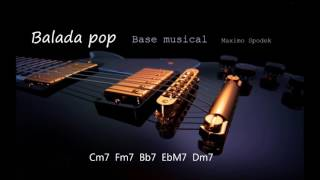 BASE MUSICAL DE BALADA POP ACUSTICA EN C PARA GUITARRA, PIANO, FLAUTA, SAXO Y PERCUSION