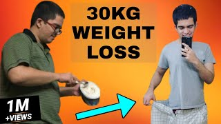 How I LOST Weight | 108kg To 78kg | Indian Weight Loss | Health And Nutrition | Gym