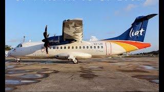 ST. VINCENT TO ST. LUCIA | LIAT | ATR 42-600 | TRIP REPORT