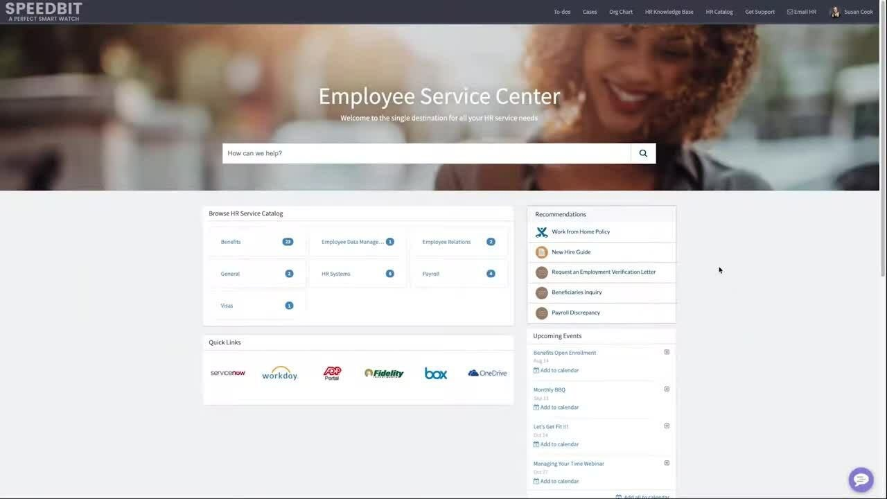 Coveo for ServiceNow – HR Service Delivery Demo