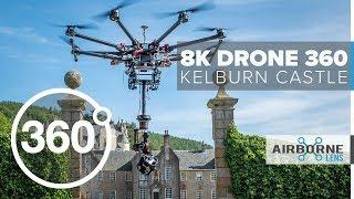 360 VIDEO: Drone Flyover Kelburn Castle