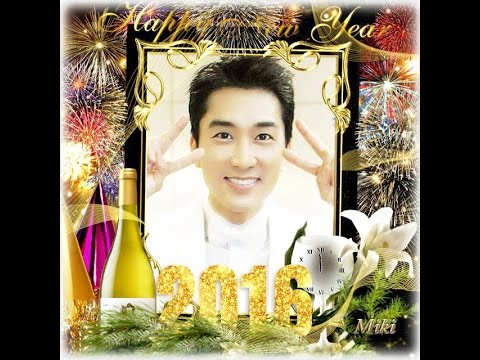 Song Seung Heon ~ Happy New Year 2016- No2
