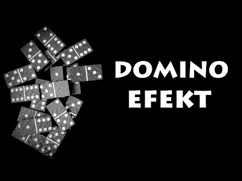 Domino Efekt - Naučte se jednoduchý trik s dominem!
