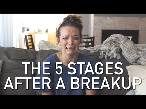 THE 5 STAGES AFTER A BREAKUP