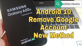 BOOM!!! Samsung A20/A20e SM-A202F. Remove Google Account. Bypass FRP. Android 10 Q.