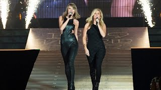 Taylor Swift & Ellie Goulding Singingcantando ''Love Me Like You Do'' In Theen El 1989 World Tour