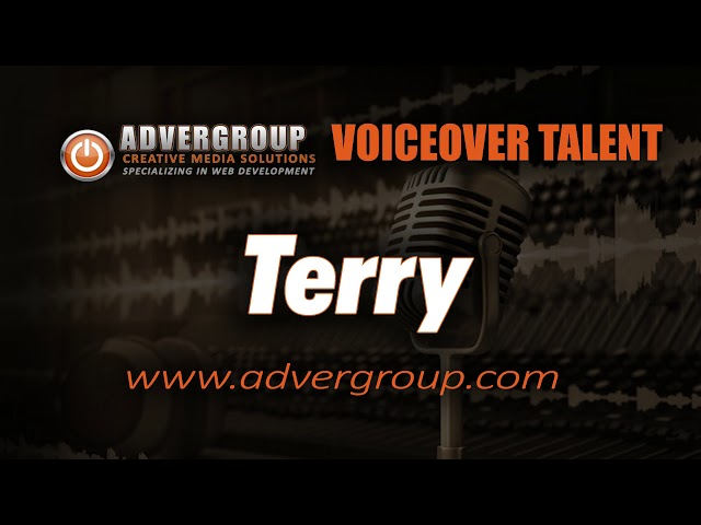 TERY Male VOICEOVER  ..