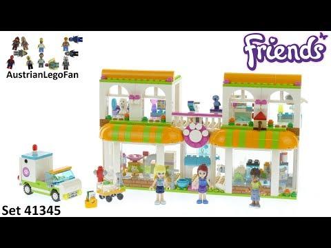 Vidéo LEGO Friends 41345 : L'animalerie d'Heartlake City