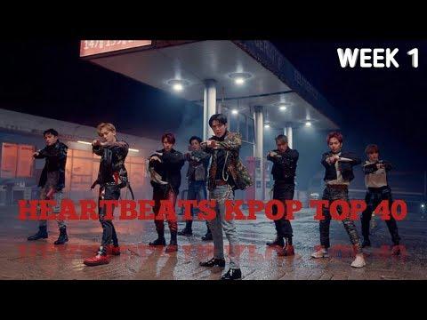 HEARTBEATS KPOP TOP 40 (January 06, 2019) WEEK 1