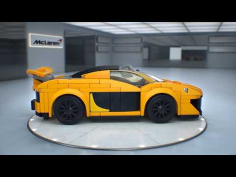 Конструктор McLaren 720S - LEGO SPEED CHAMPIONS - фото № 7