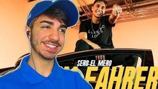 LEGENDE DIESER TEPPICH 😁 Sero El Mero   Dein Fahrer (Official Video)   Reaction