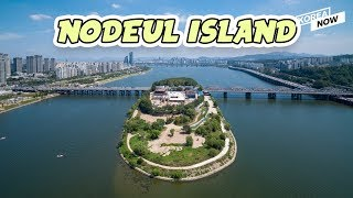 The mysterious island in the middle of Han River  which is flowing through the heart of Seoul !!!