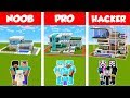 Minecraft NOOB vs PRO vs HACKER SAFEST