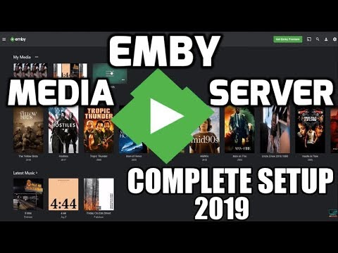 Emby Media Server Complete 2019 Setup!! Is this better than Plex?