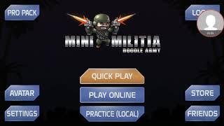 Играю мини-милиту