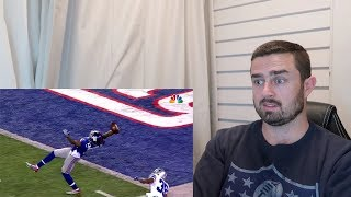 Rugby Fan Reacts to ODELL BECKHAM JNR Career Highlights!