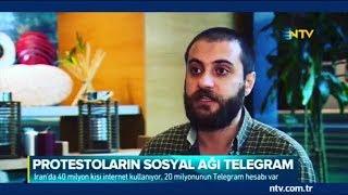 İran'daki Protestoların Sosyal Medya Ayağını NTV'ye Değerlendirdim