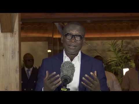 Déclaration du Président élu Patrice TALON après la proclamation des résultats par la Cour . Déclaration du Président élu Patrice TALON après la proclamation des résultats par la Cour .