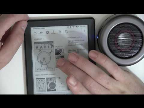 8th Gen Kindle BEST FEATURE -- VoiceView over Bluetooth!