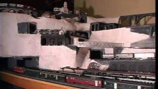 preview picture of video 'H0 Modelleisenbahn Bahnhof  Castelgrande Bellinzona'