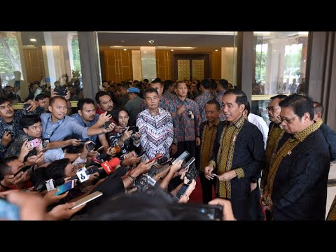 Keterangan Pers Presiden RI Terkait KPK, Jakarta, 16 September 2019
