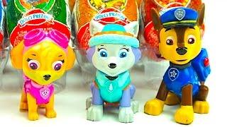 Сюрпризы и игрушки с героями мультика