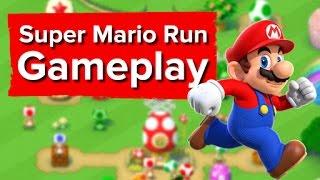 4 minutes of Super Mario Run Gameplay