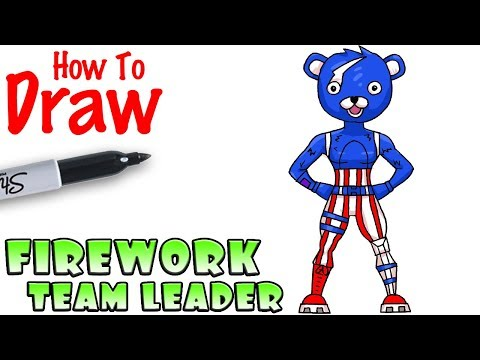 How To Draw Firework Team Leader Fortnite Netlab