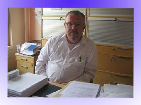 Rektale Palpation der Prostata