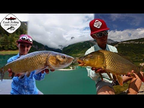 Plavaná a feeder na italský horských jezerech: Czech Fishing (Al