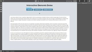 Using Actions to Create Interactive Apps