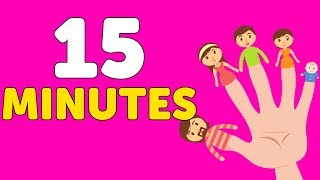 Finger Family and Many More Nursery Rhymes for Toddlers and Children   Kindergarden TV