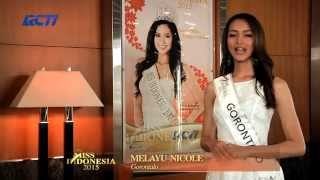 Melayu Nicole Hall for Miss Indonesia 2015